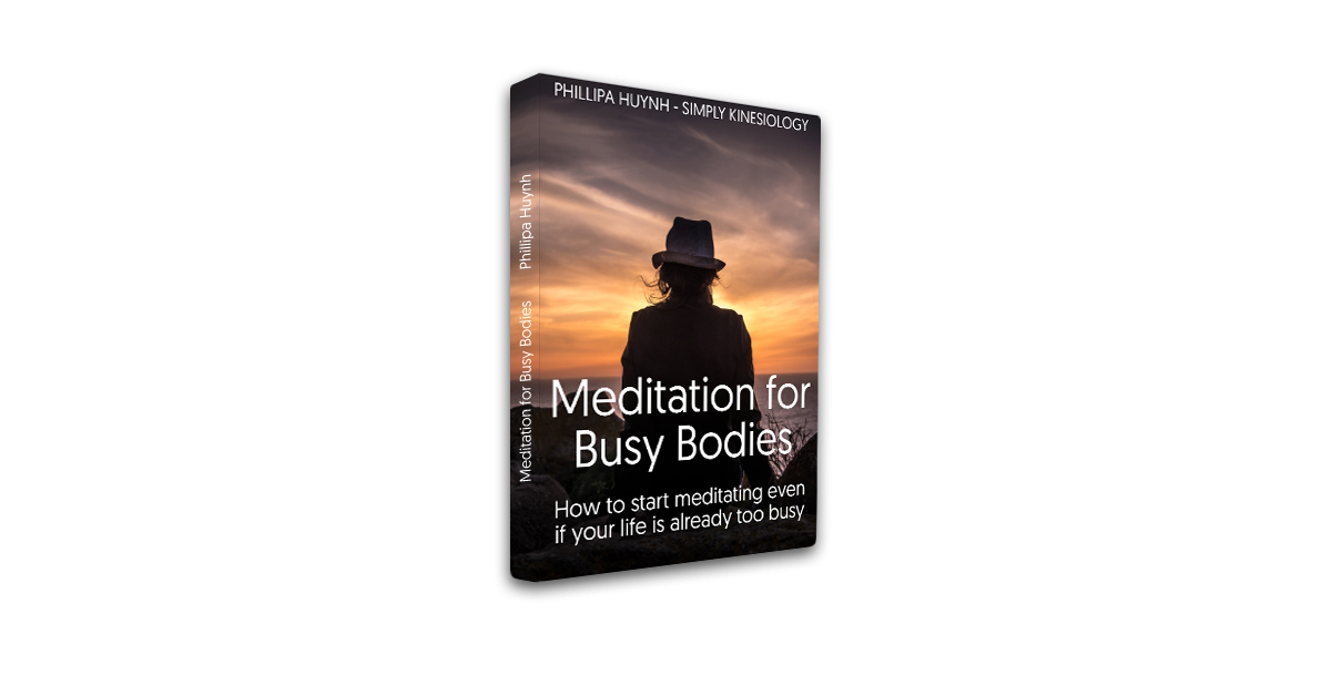 Meditation ebook cover