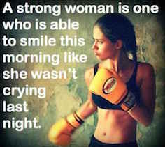 Strong Women Don't Cry?!