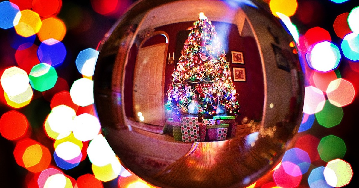 Christmas tree in ornament